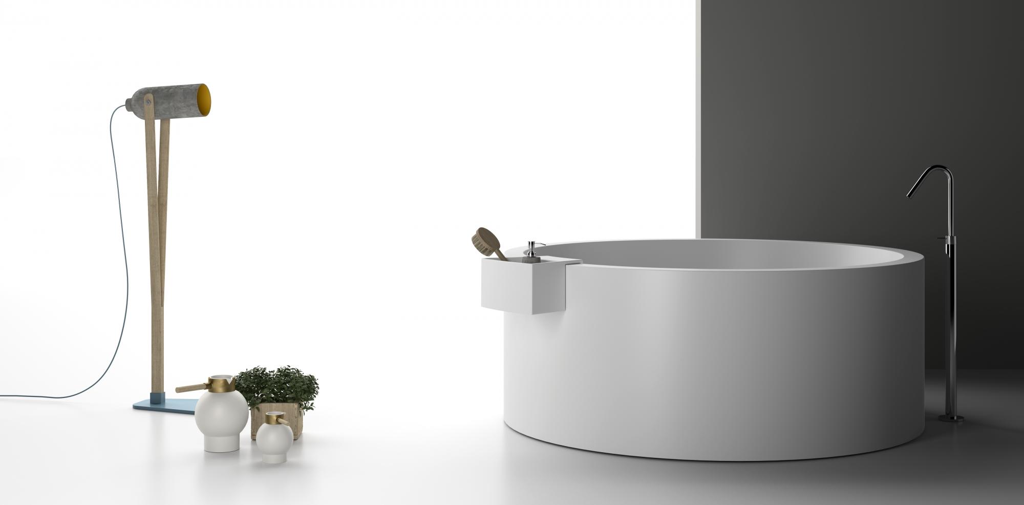 Planit presenta la vasca da bagno Marina: design di Itamar Harari ...