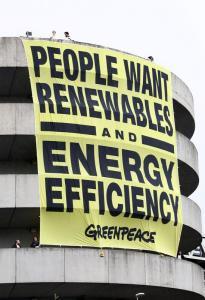 Renewable Energy Banner in Italy