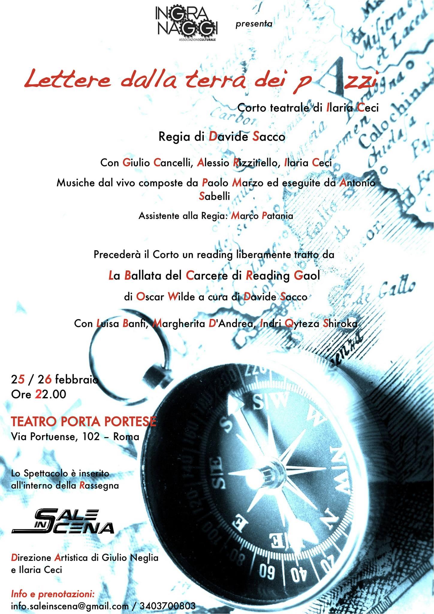 Teatro porta portese di roma tre spettacoli in uno hugo - Porta portese offerte lavoro roma ...